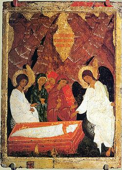 Mironositele martore ale Invierii Domnului